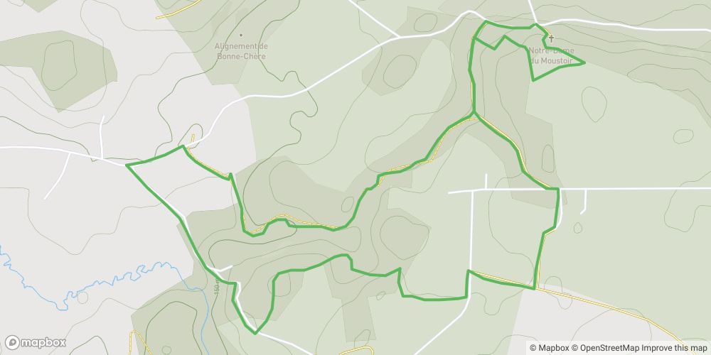 Circuit de la vallée des loutres et du ruisseau de la Bonne Chère