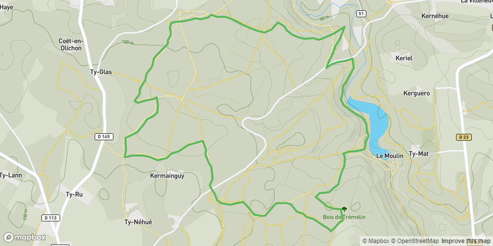 Circuit de la forêt de Trémelin