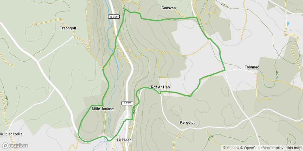 Boucle de Riboul Potic - Monts d'Arrée