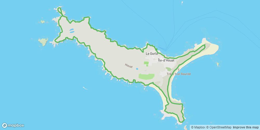 Houat, Tour de l'Île