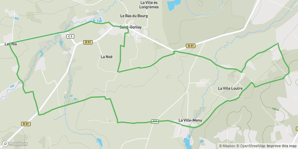 Circuit de Lorinou à Saint-Gonlay