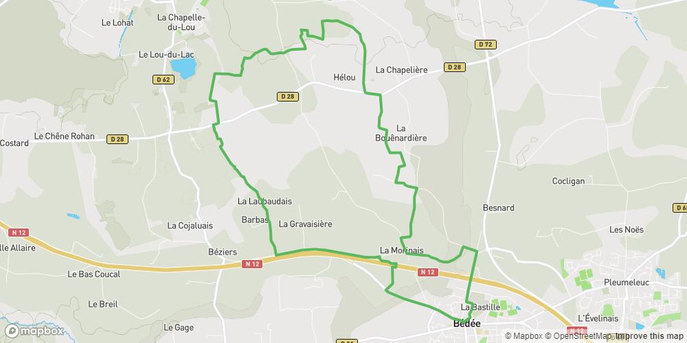 Circuit de la Hautière à Bédée