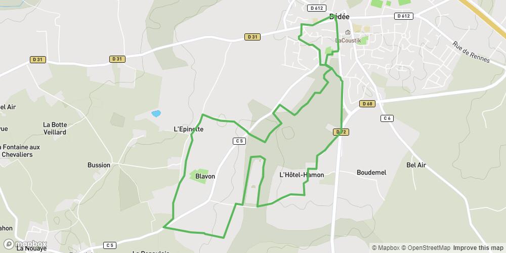 Circuit du Blavon à Bédée