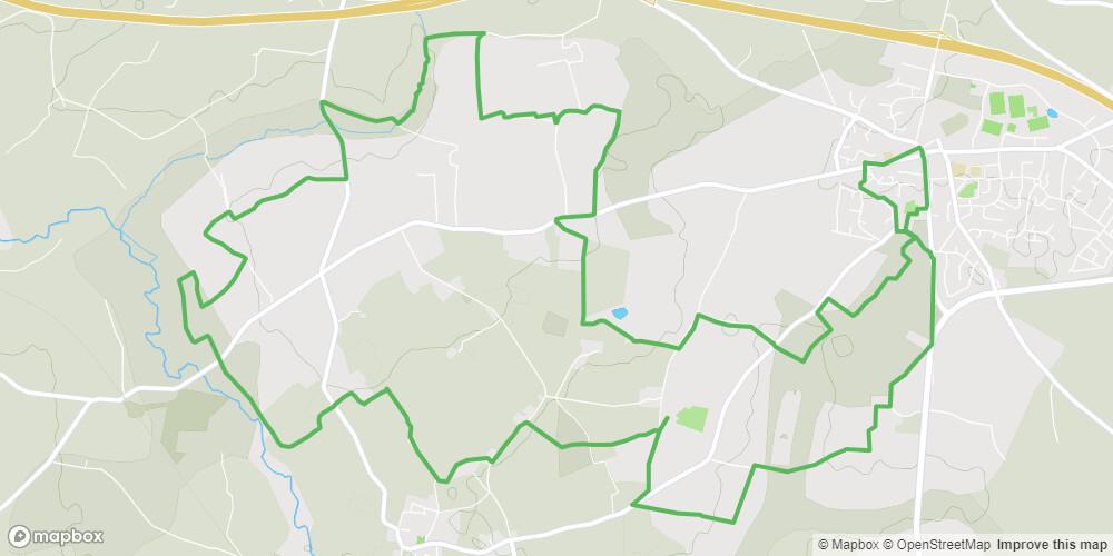 Circuit des 3 rivières à Bédée