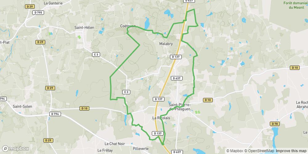 Circuit de la forêt de Coëtquen