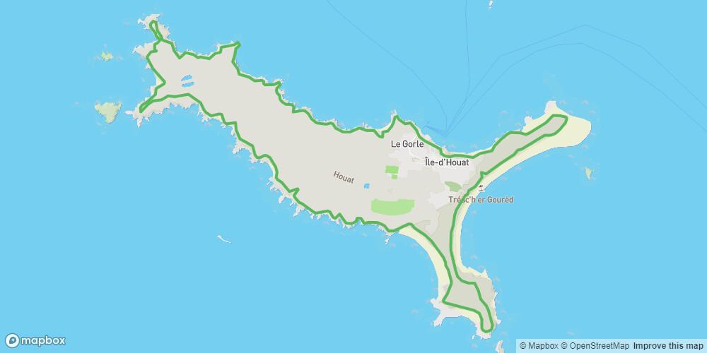 Tour de l'île d'Houat