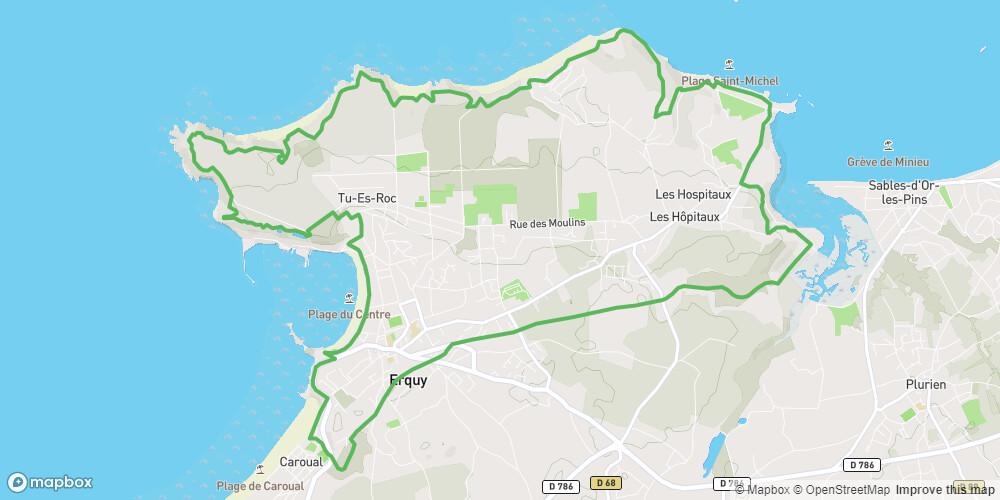 Le tour du Cap d'Erquy