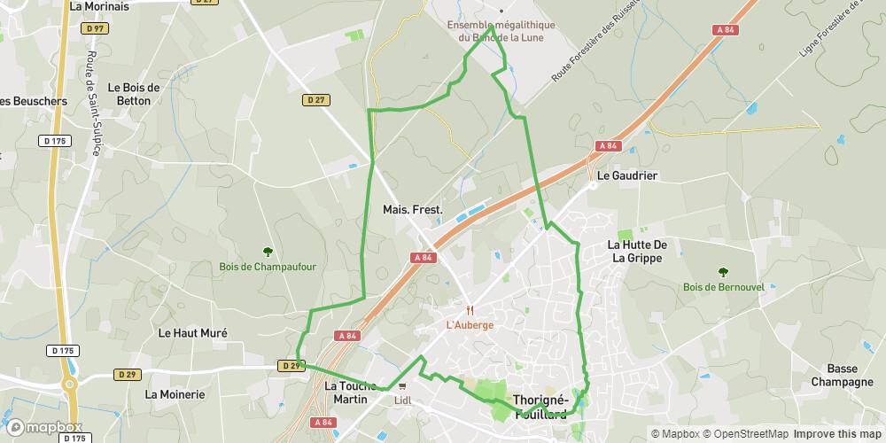Thorigné-Fouillard : De la ville à la forêt