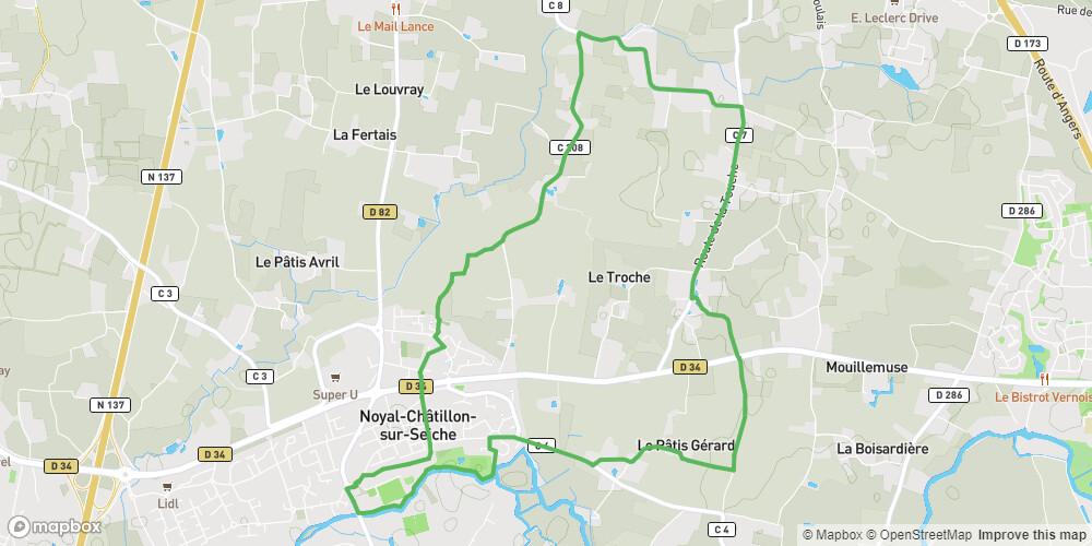 Noyal-Châtillon-sur-Seiche : Entre Seiche et Campagne