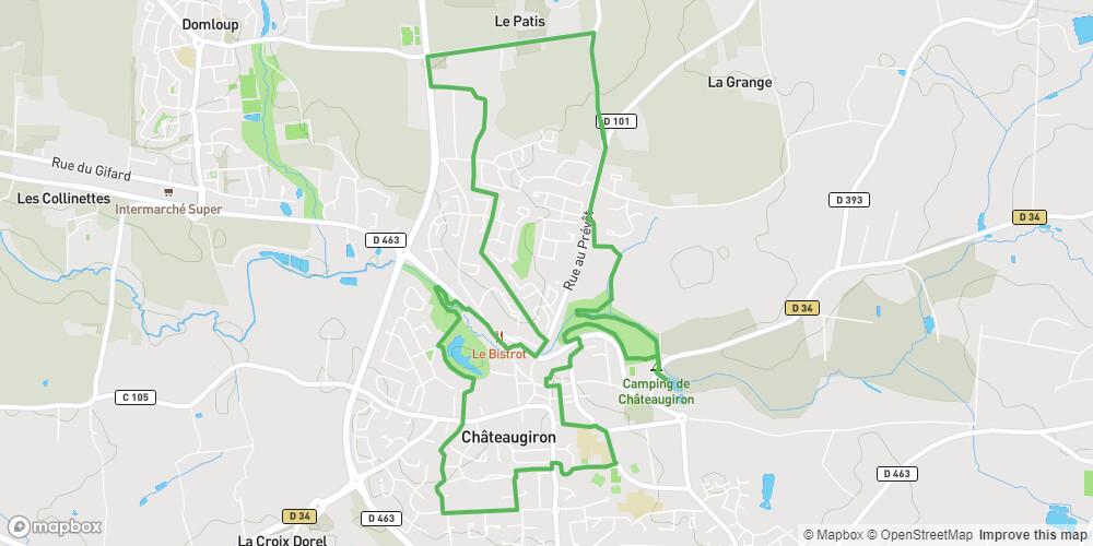 Châteaugiron : De la Glaume à Gervis