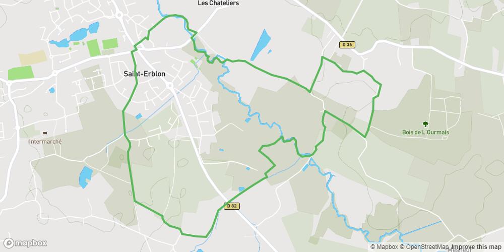 Saint-Erblon : Hermeland sud
