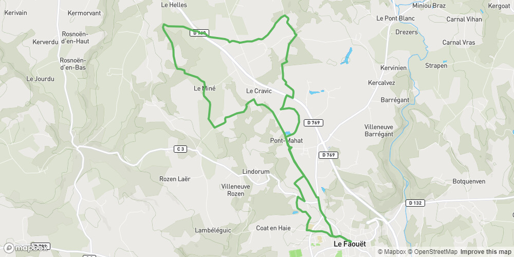 Circuit de Saint-Jean Le Miné au Faouët