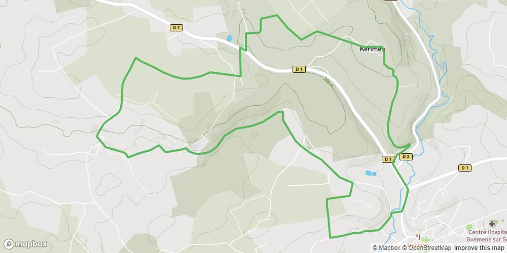 Ploërdut - Circuit de Crénénan