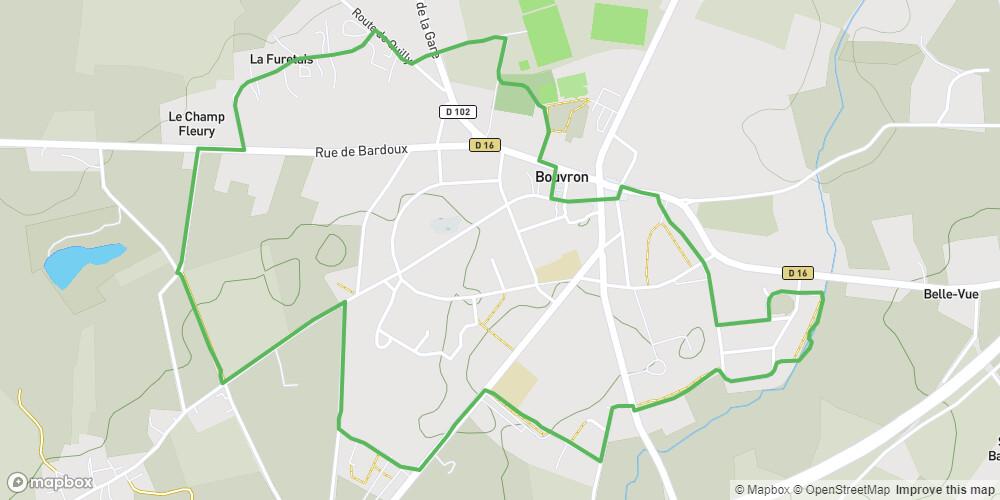 Circuit autour du Bourg