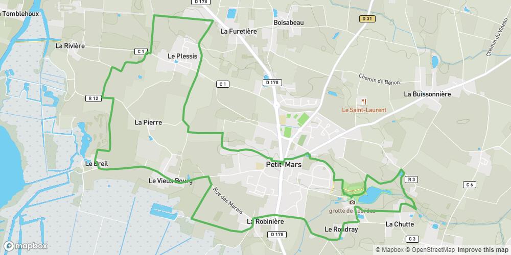 Circuit des Marais Petit Mars