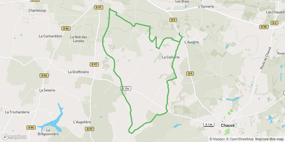 Circuit des Villages Chauvé