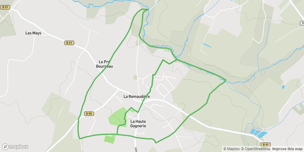 Circuit du Moulin de la Robinière
