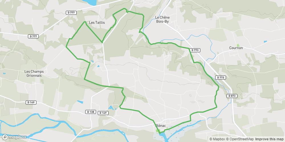 VTT: Circuit des Marais - Glénac - n°3