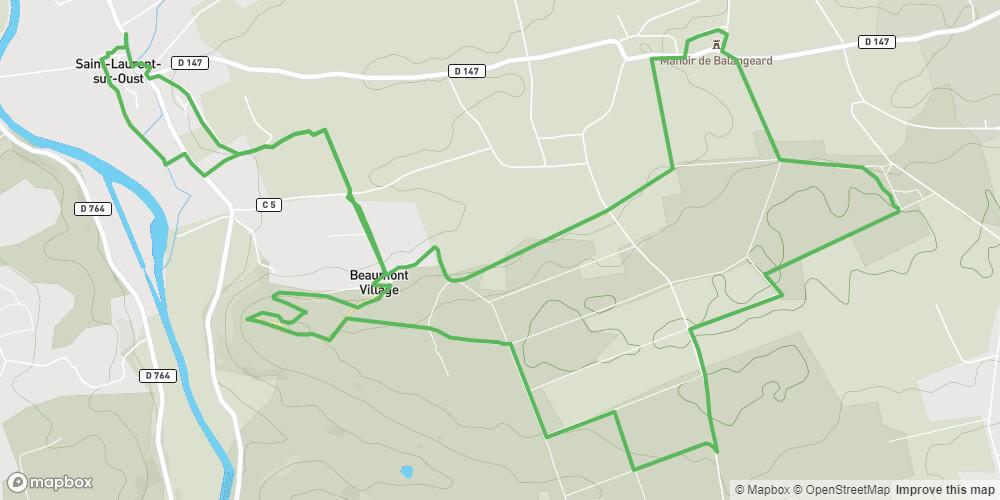 Circuit du Houssa - Saint-Laurent sur Oust