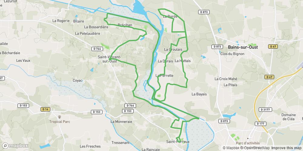 Boucle vélo de St Vincent sur Oust n°12