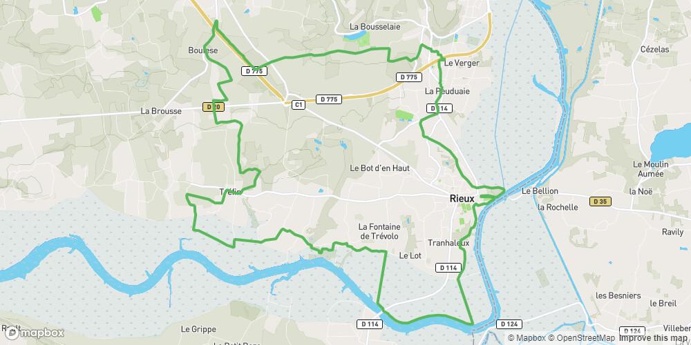 Circuit VTT des Coteaux de Vilaine