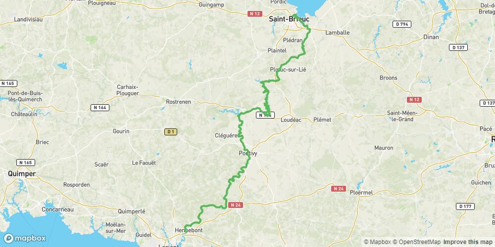 V8 - Saint-Brieuc >> Lorient