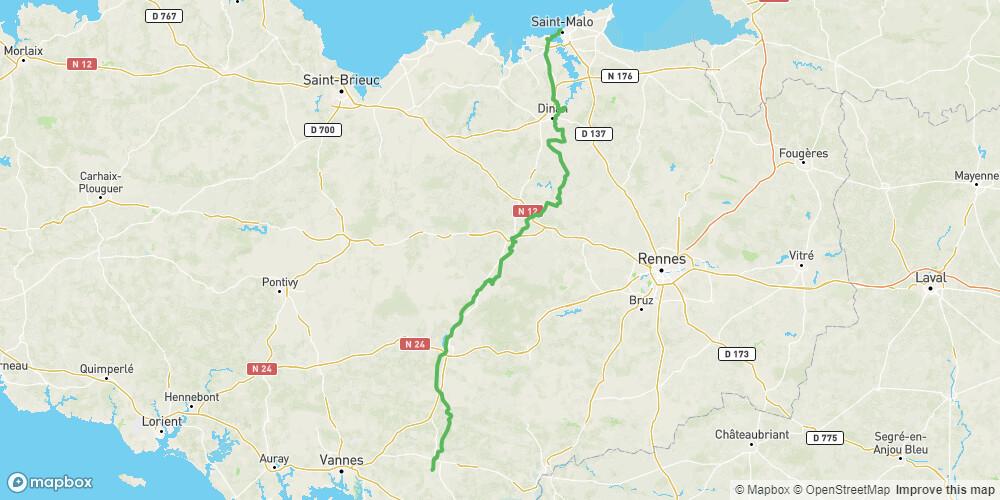 V3 - Saint-Malo >>> Rhuys