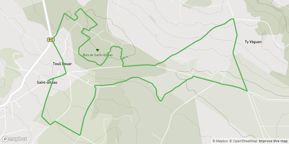 Le Bois de Saint-Gildas (VTT)
