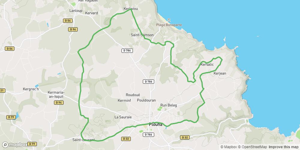 Circuit chapelles de Plouha - boucle vélo