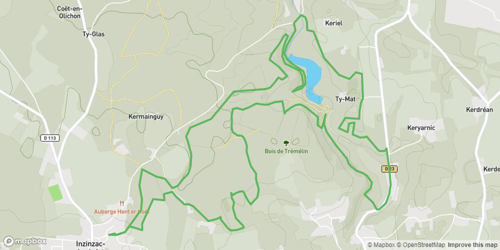 Inzinzac-Lochrist - Circuit du Lavoir