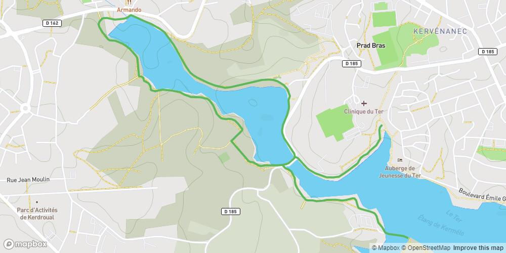 Ploemeur - Circuit des rives du Ter