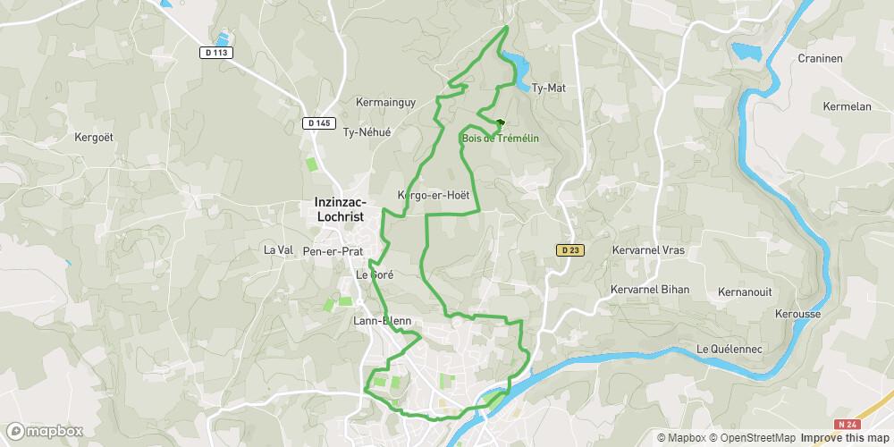 Inzinzac-Lochrist - Circuit du bourg