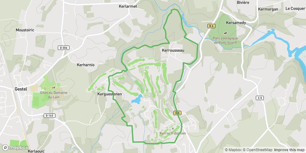 Quéven - Circuit du tour du Golf