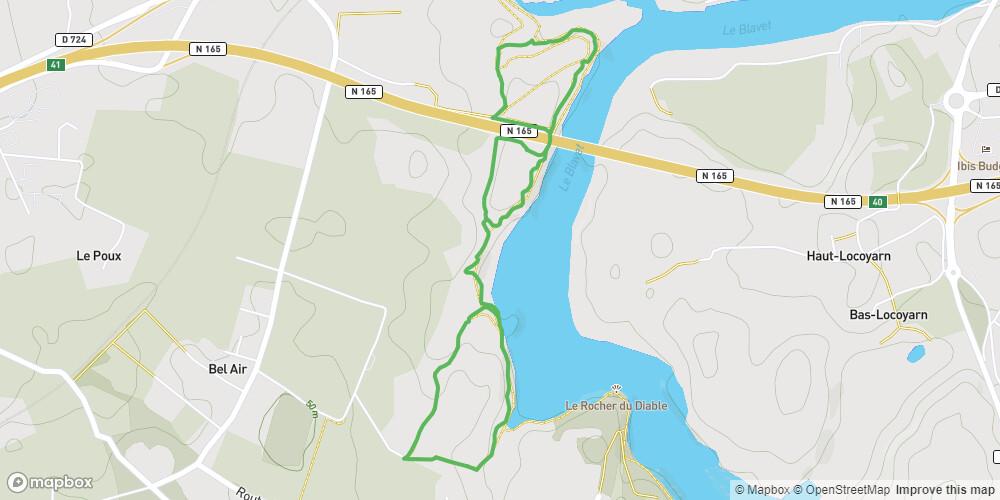 Lanester - Circuit du bois de St-Nudec