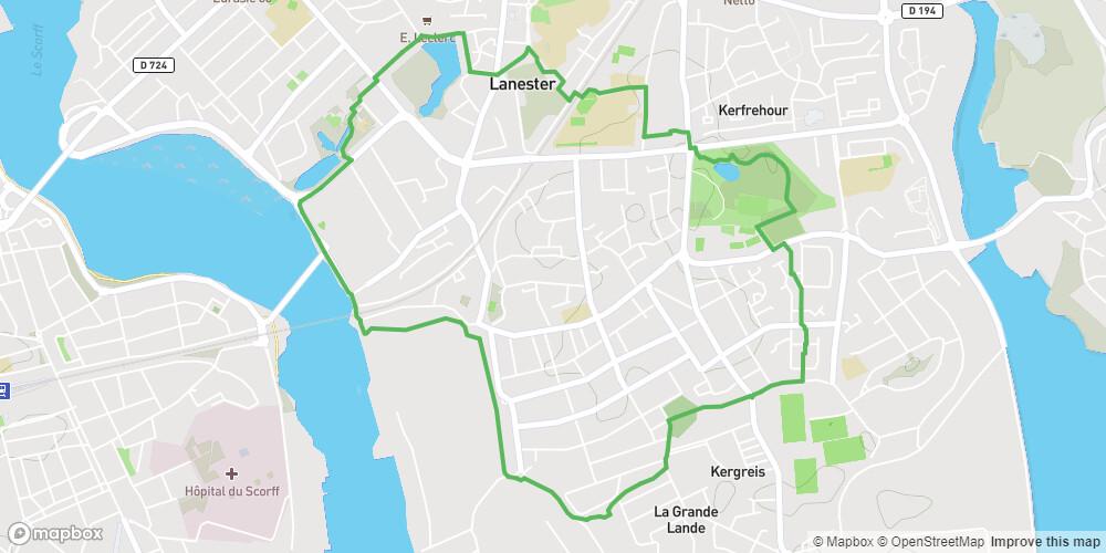 Lanester - Circuit de la batterie de Kerhono