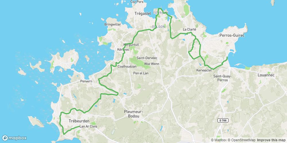 Le Tour de Manche - Etape 2 - De Perros-Guirec à Trébeurden