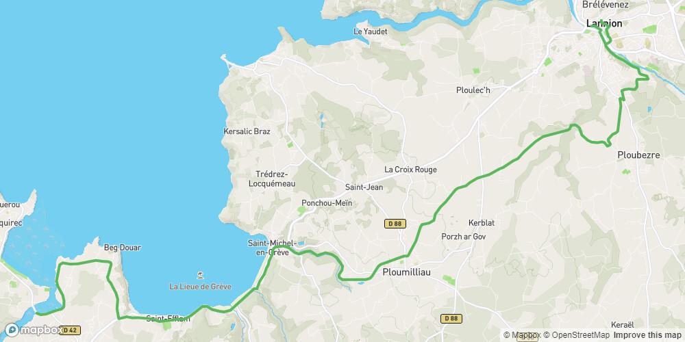 Le Tour de Manche - Etape 4 - De Lannion à Plestin-les-Grèves