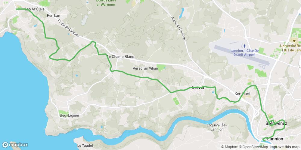 Le Tour de Manche - Etape 3 - De Trébeurden à Lannion