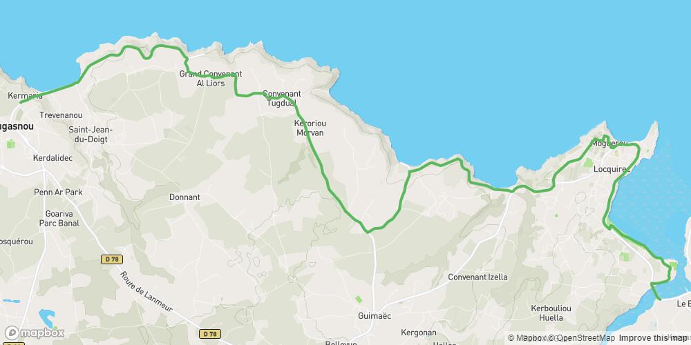 Le Tour de Manche - Etape 5 - De Plestin-Les-Grèves à Plougasnou