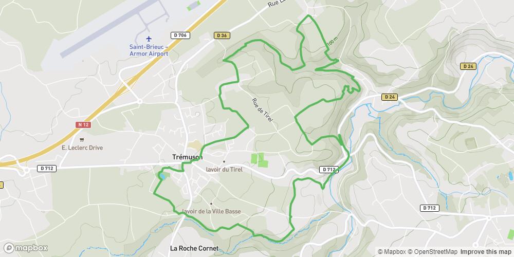 Trémuson - Circuit des Mines