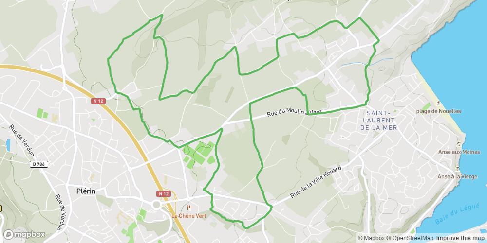 Circuit n°12 - Plérin