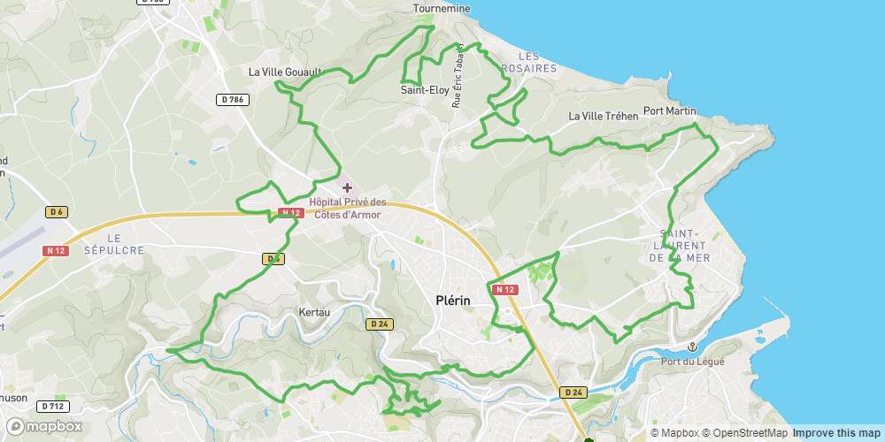 Circuit n°13 - Plérin