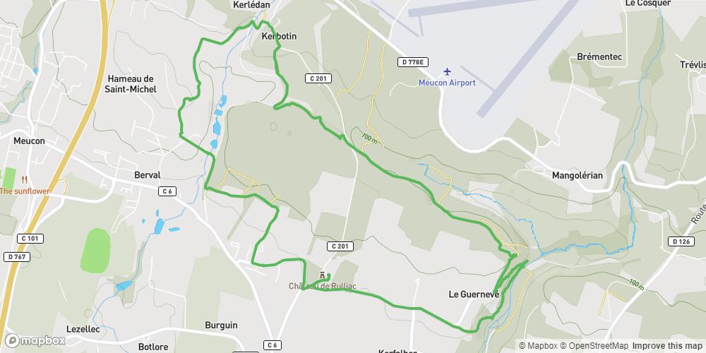 Circuit du Camp de César, Saint Avé