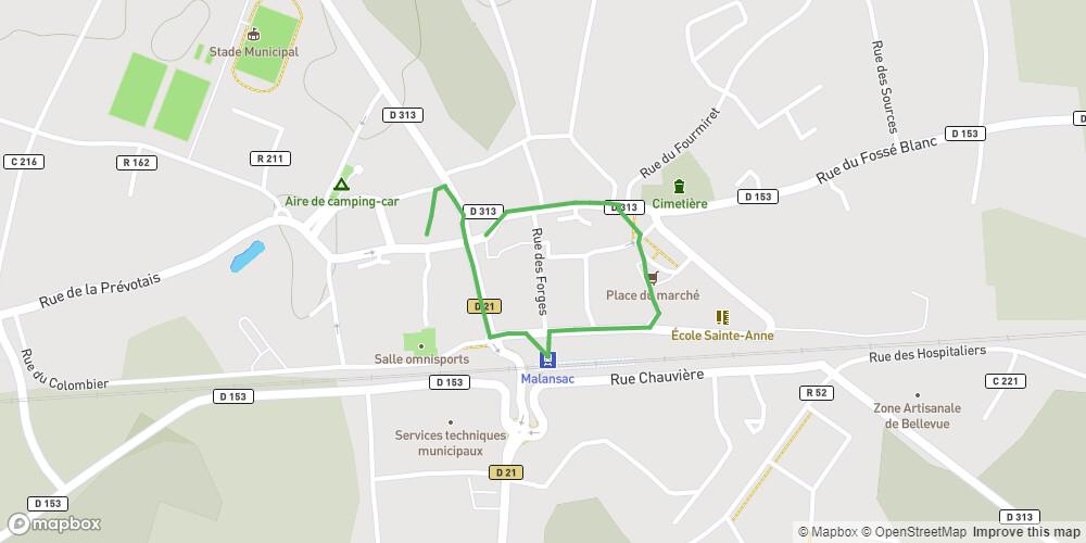Circuit du patrimoine,Malansac