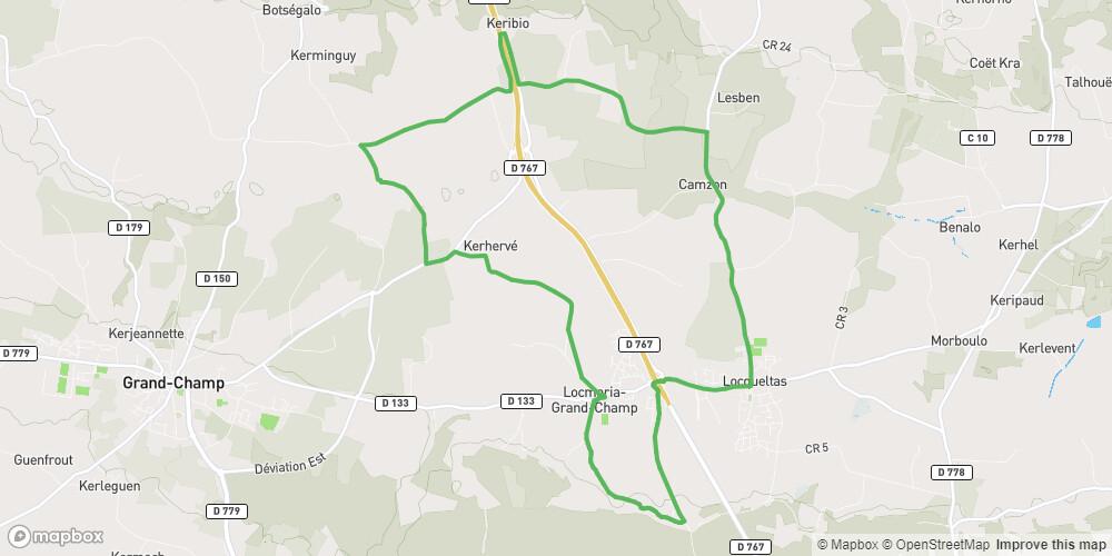 Locmaria-Grand-Champ-Locqueltas vélopromenade n°4