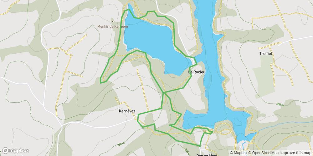 Le sentier d'interprétation de l'étang du Rocleu