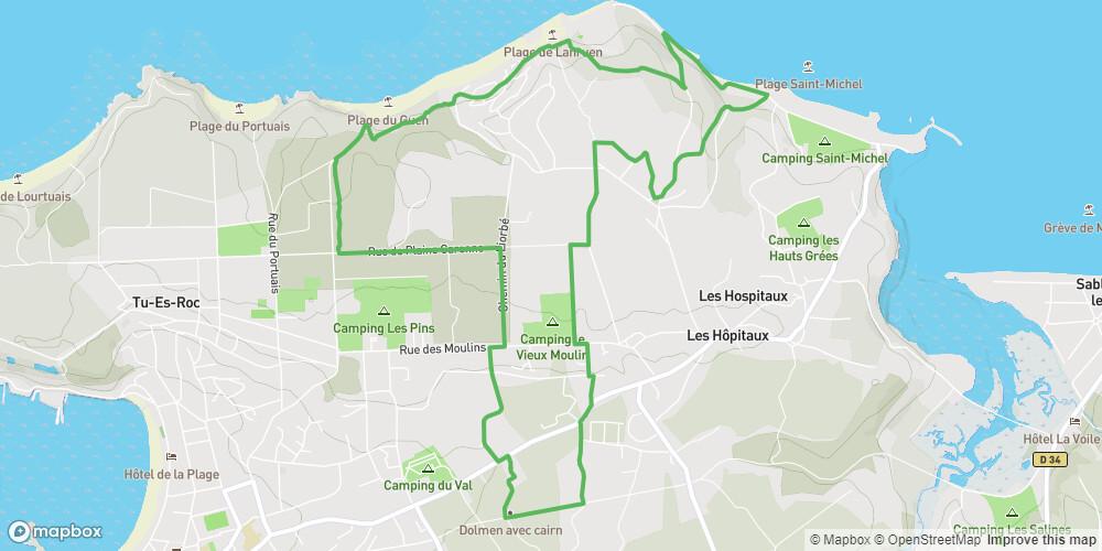Circuit de Lanruen - Erquy