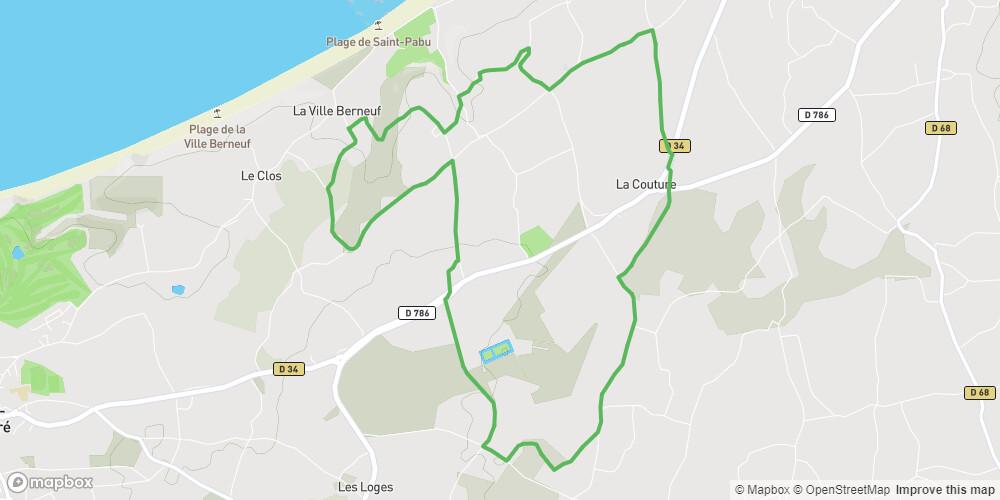 Circuit de Bienassis-Saint Pabu - Erquy