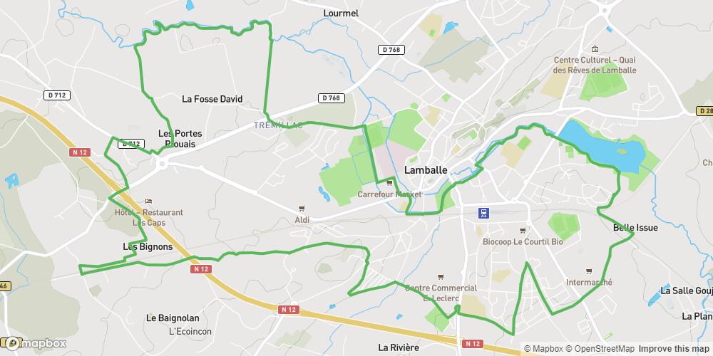 Lamballe - Entre ville et campagne